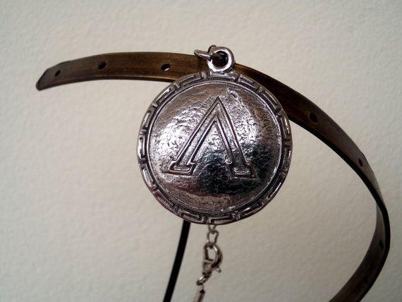 300 the movie necklace 300 leonidas Spartan charm Spartan shield #300 #Spartan #Spartannecklace