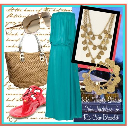 Rio Style with Stella & Dot: Dot Rocks, Coin Necklace, Color, Fashion Corner, Rio Coin, Fe S Fashion, Stella Dot