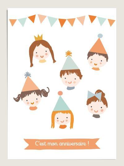 10 Cartes d'anniversaire : Little Cube for Dioton