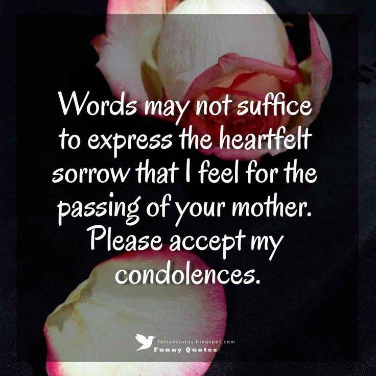 Condolences messages for your sympathy card condolence