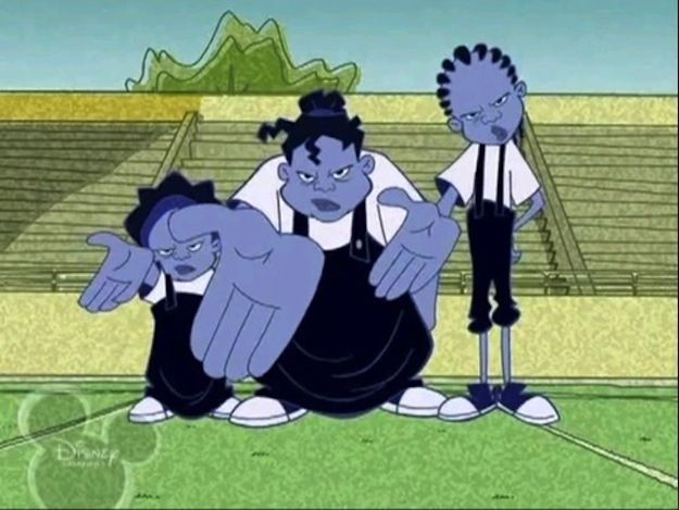 The Gross Sisters the proud family