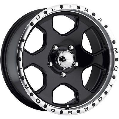 16x8 Black Ultra Rogue 175 5x4.5 10 Wheels Nitto Terra Grappler 285/75/16 Tires