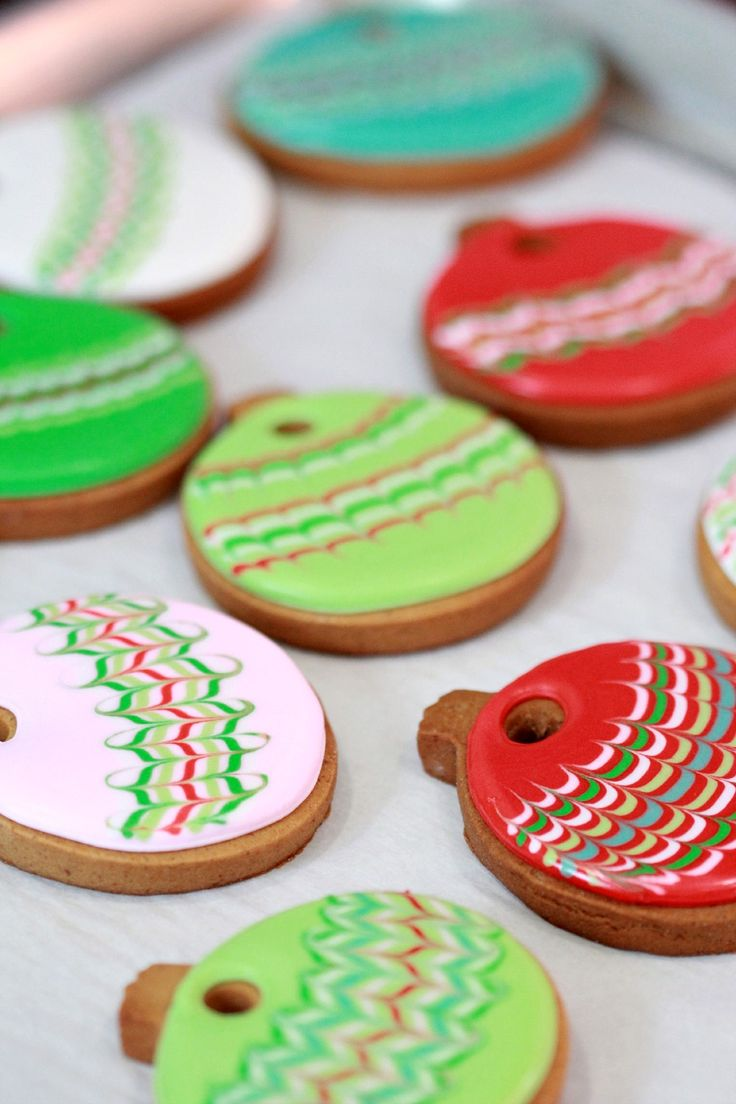 Decorated Cookie Ornament How To ~ Sweetopia