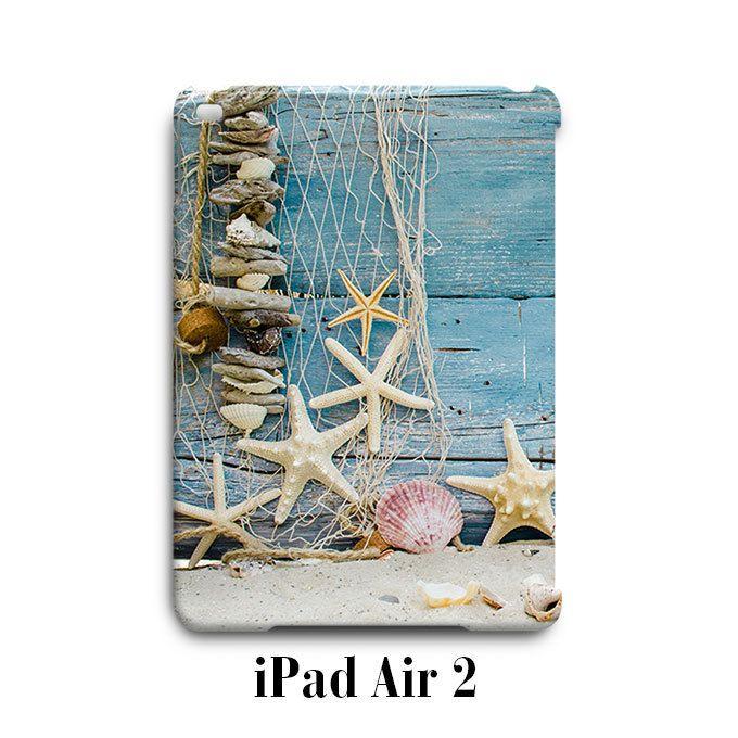 Beach Starfish Print iPad Air 2 Case Cover Wrap Around