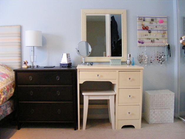 Фото из статьи: Как обустроить туалетный столик: 15 примеров