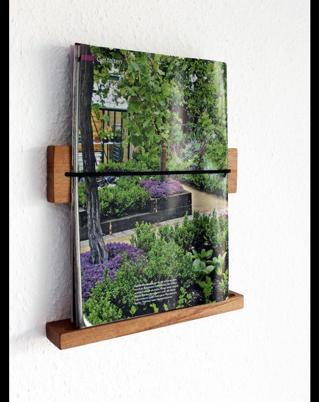 Jugendzimmer Für Jungs Bei Ikea ~ Zeitungsständer  Eleganter Zeitschriftenhalter aus Buche  ein