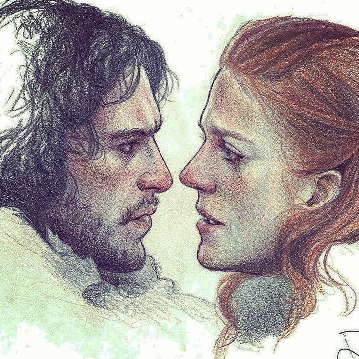 "regram @subversivegirl Love is Love.""You know nothing Jon Snow"" #oldie #GameOfThrones #JonSnow #Ygritte #KitHarington #RoseLeslie #Love #hate #redhair #sketch #sketchbook#art #fanart #drawingoftheday #portrait #drawing #draw #pencils #insta #instagram #instamood #instagood"