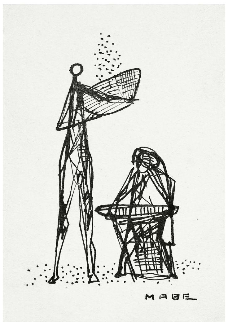 A exposição mostra transformação da linguagem pictórica de Manabu Mabe, da figura em direção à abstração.
