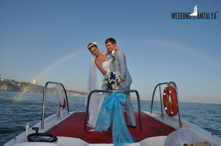 yacht wedding in Turkey