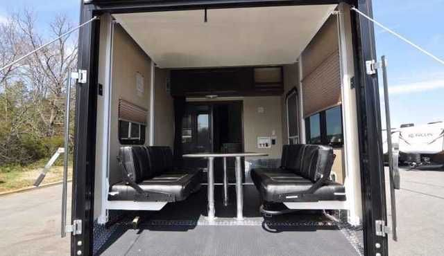 """2015 New Dutchmen Voltage V3005 Toy Hauler in North Carolina NC.Recreational Vehicle, rv, We are """"America's Premier Trailer & RV Dealer"""". Located in Concord NC, just north of Charlotte Motor Speedway, best known for our years of experience, award winning staff and excellent customer satisfaction. What started in 1988 as a local family owned business has grown over the years into one of the top trailer & RV dealers in the industry. Price & payments does not include tax, title, license…"""
