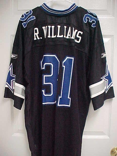 63dda205f ROY WILLIAMS 31 Dallas Cowboys Nylon Black Mesh Football Jersey 2XL Reebok  New #Reebok #DallasCowboys