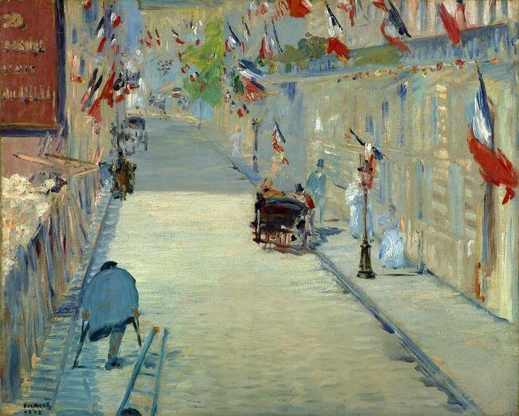 Эдуард Мане Улица Монье 1878 Всем выставка