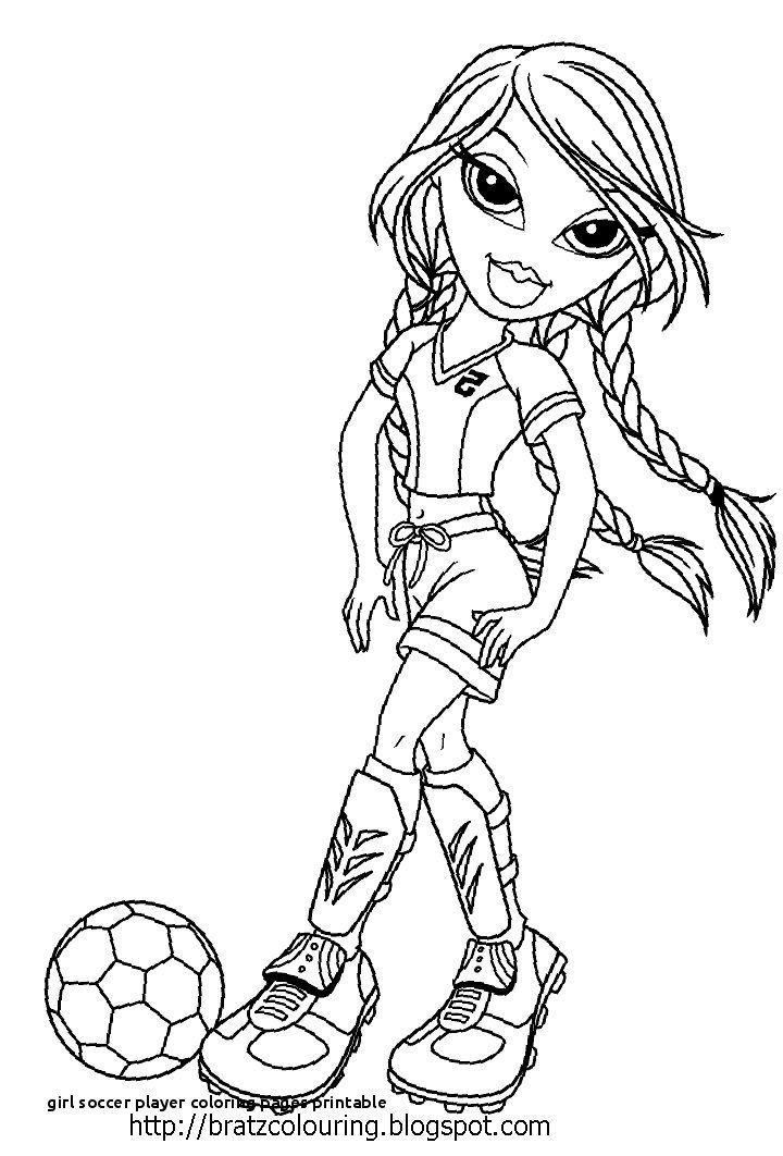 Easy Printable Soccer Coloring Pages Di 2020