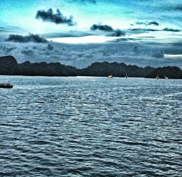 Halong Bay.