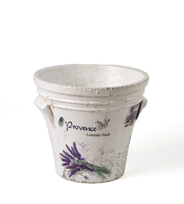 Flowerpot #provence #outdoor #decoration for #home by #ZAROS www.zarossa.gr