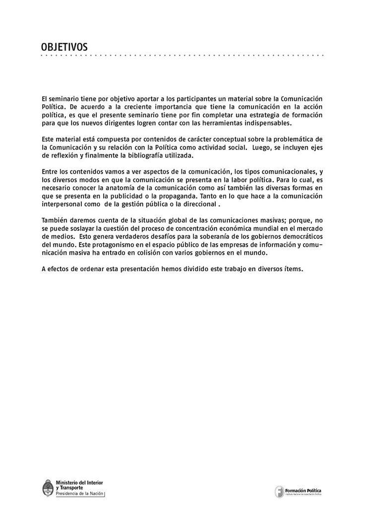 Seminario Formación Política   PDF Flipbook