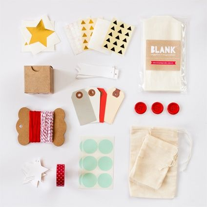 wrapping kit // blank paper goods
