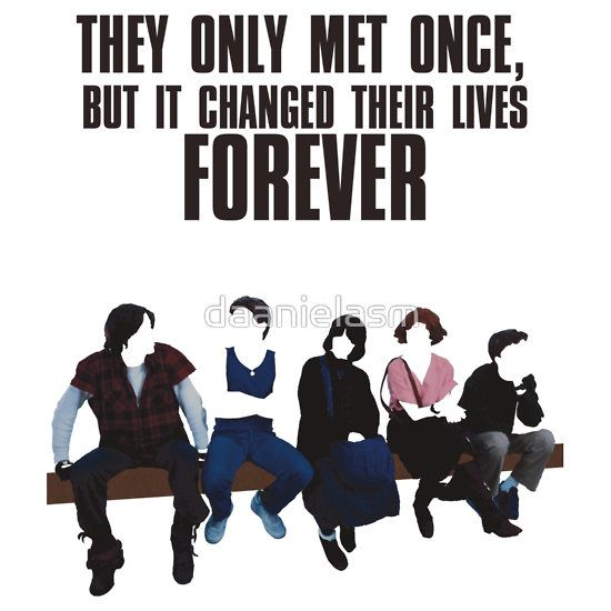 The Breakfast Club T-Shirt, $23.34, RedBubble