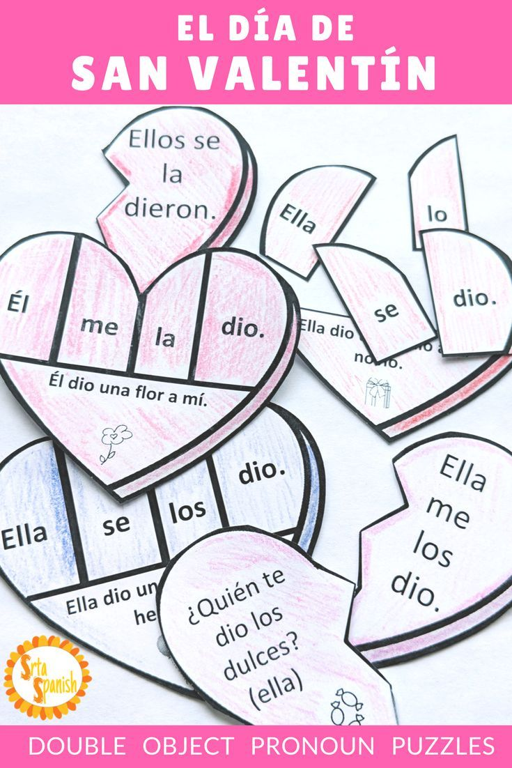 Perfect For Practicing Double Object Pronouns And Having Seasonal Fun Spanish Students Will Love The Object Pronouns Learning Spanish Spanish Lessons For Kids