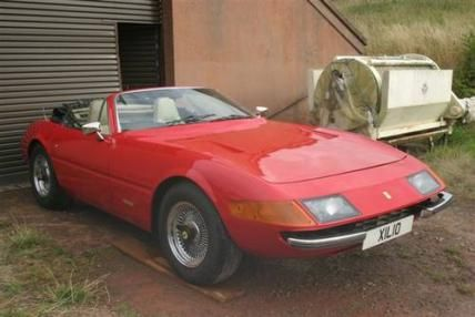 1976 Ferrari Daytona Convertible (1 of only 105 ever created)  #VCI #vintagecars #classiccars