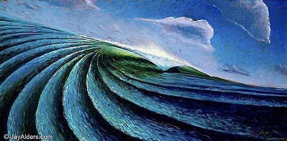 """""""Out of The Blue"""" by Jay Alders."""