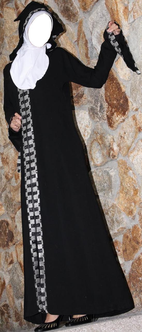 Abaya Burka Style in Saudi Arabia and Pakistan India