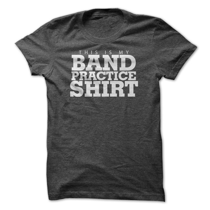 Do you love music? Do you play in a band? Are you in marching or concert band? This is the perfect shirt to show off your love for music! Available in 5 colors!