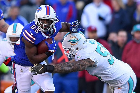 The fantasy football Week 10 schedule opens with the Bills and Jets and some players to start or sit on Thursday include Chris Ivory, LeSean McCoy, Karlos Williams, Sammy Watkins, Brandon Marshall, Eric Decker, Ryan Fitzpatrick, Tyrod Taylor and Charles Clay for the TNF matchup.