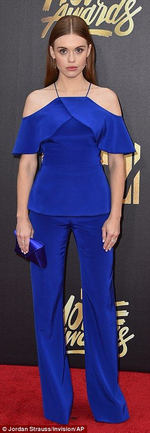 Into the blue:Musician Andrea Whitt, actress Holland Roden and vlogger Lilly Singh showed their fashion flair with stylish one and two-piece ensembles