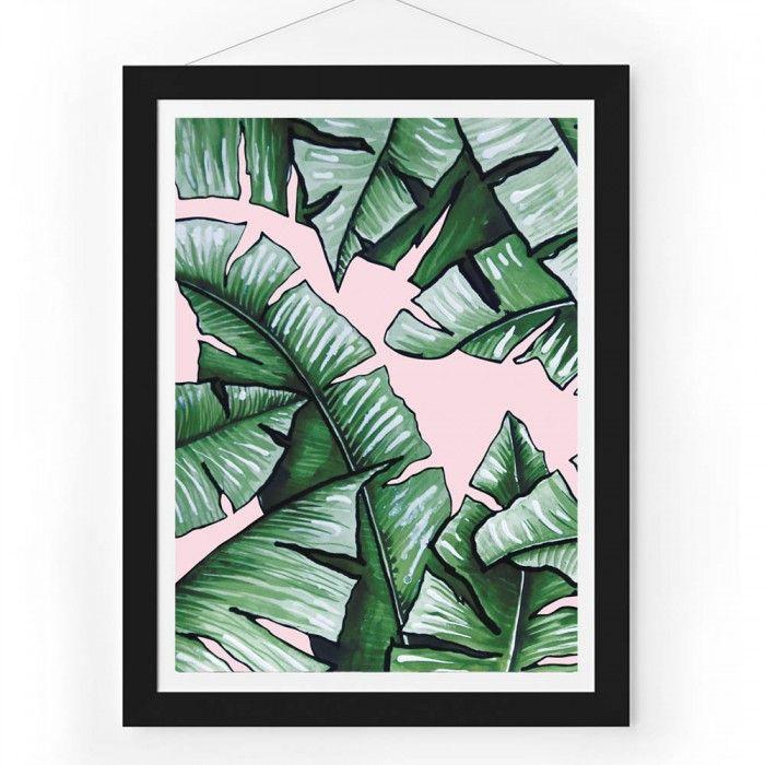 Fantastical Botanical Leaf Print  - Me and My Trend