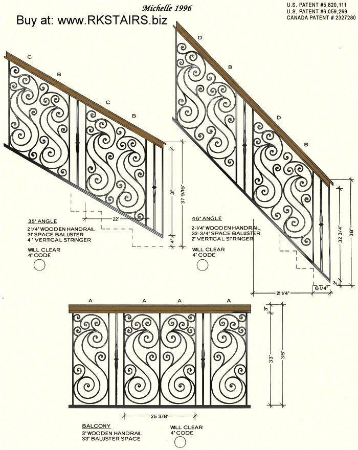 Iron Stair Balusters call 818-335-7443 Stair Parts, Iron Balusters ...