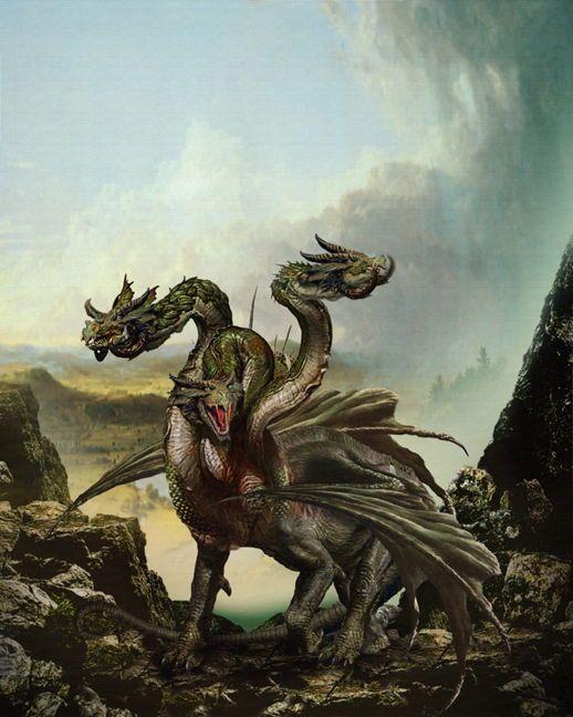 попробовал фото славянских драконов поддерживают