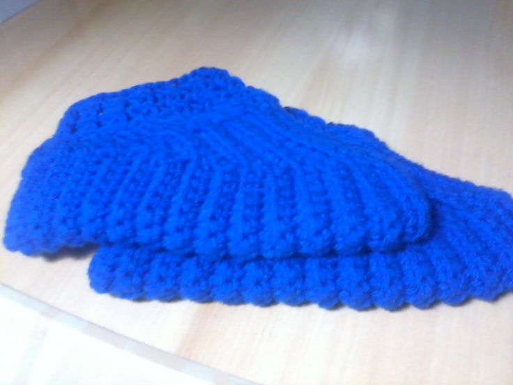 Zapato de lana