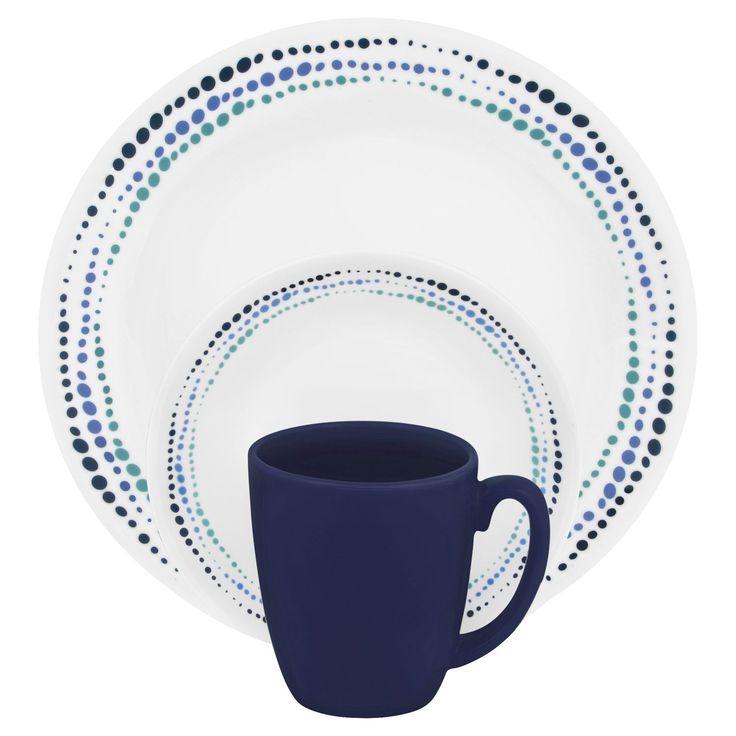 Corelle® Livingware™ Ocean Blues 16 Pc Dinnerware SetLivingware™ Ocean Blues 16 Pc Dinnerware  sc 1 st  Pinterest & 23 best Corelle images on Pinterest   Corelle dishes Kitchen ...