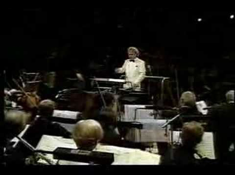 "Maurice Jarre conducts the Royal Philharmonic Orchestra on ""A Passage To India"" - A musical tribute to Sir David Lean, 1992"