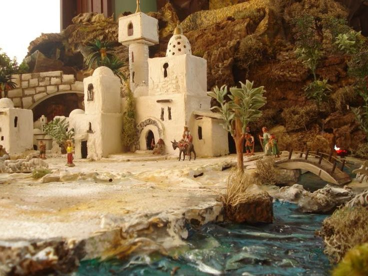 17 best images about idee per presepe on pinterest dollhouse miniatures israel and cases - Casa luis pozuelo ...