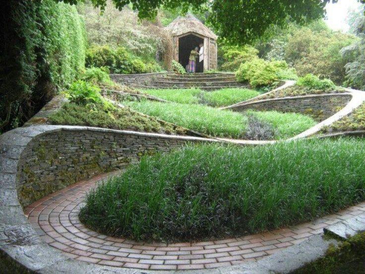 The Garden House at Buckland Monachorum in Devon