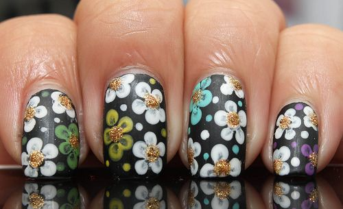DIY Nail Art techniques 2013: What You Can Do With Nail Dotting Tool