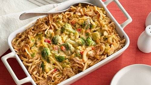 12 Casseroles for a Crowd Company Broccoli Three-Cheese Bake