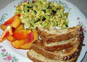 Tofu scramble, Tofu and Zucchini on Pinterest