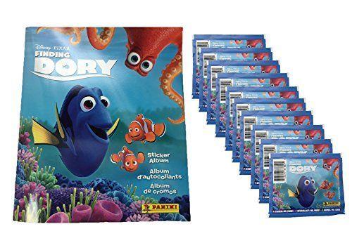 Panini Disney Pixar Finding Dory Sticker Album PLUS 10 Sticker Packs ** Visit the image link more details.