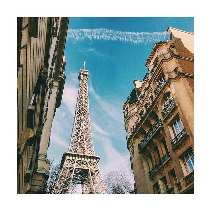 cu gândul la steluțe franțuzești by luluthetraveler Eiffel_Tower #France