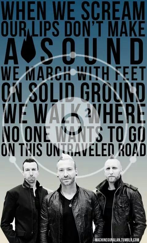 Thousand Foot Krutch. This song pulled me through so many late nights and homework<3