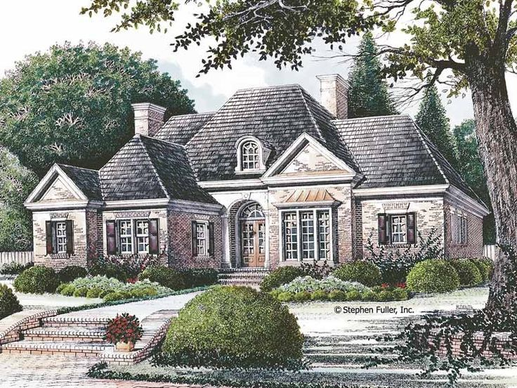French Country House Plans 2800 Square Feet Part - 17: Eplans French Country House Plan - Rooms With A View - 2160 Square Feet And  3 Bedrooms(s) From Eplans - House Plan Code Such A Great Design.
