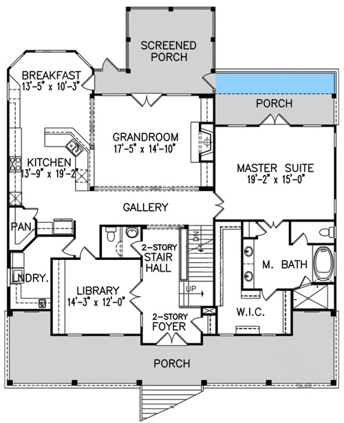 17 best House Plans images on Pinterest Architecture, Country - design homes floor plans