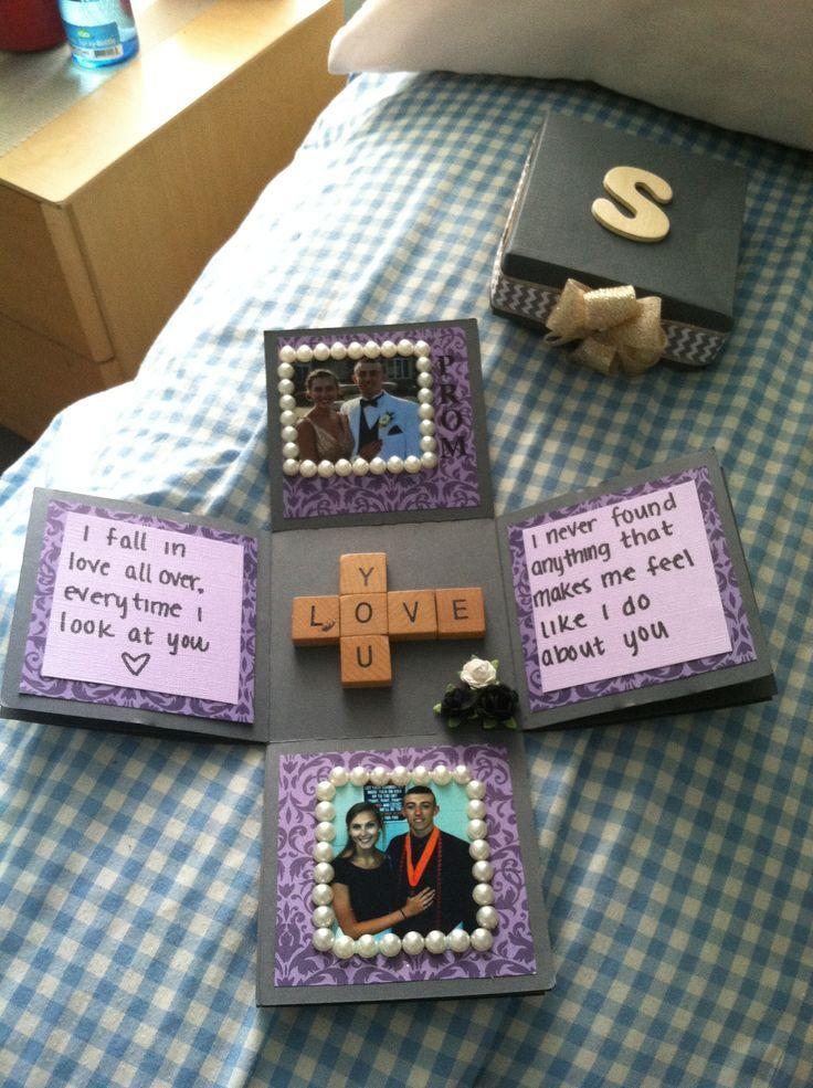 15 Romantic Scrapbook Ideas for Boyfriend | Exploding boxes, The ...