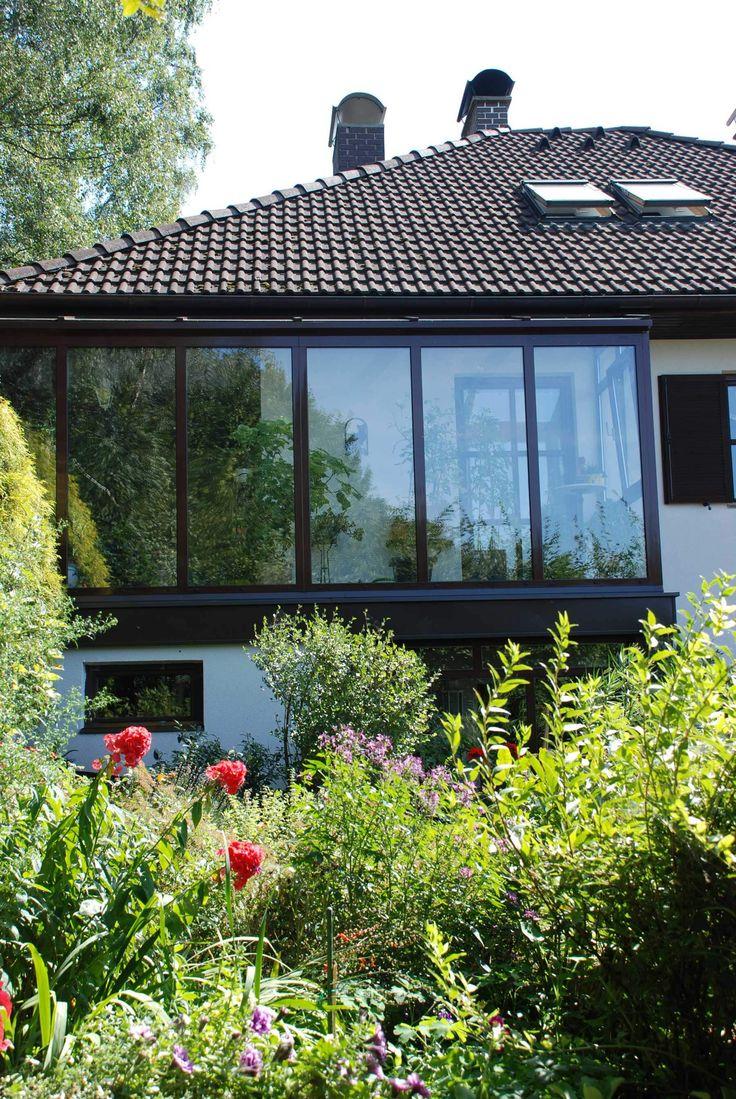 glasanbau fr pflanzen aus glas und aluminium wintergarten - Wintergartendesigns