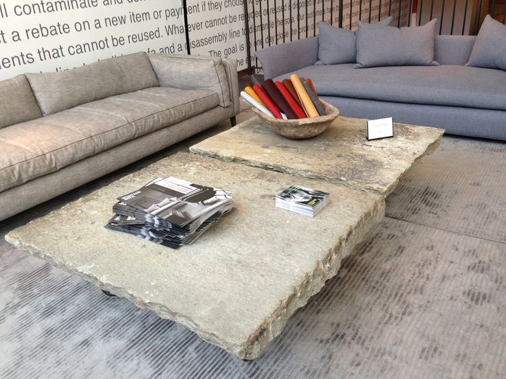 Stone Coffee Table From Montauk