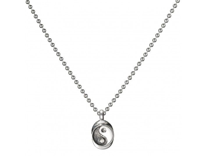 Buddha to Buddha Ying-Yang pendant in silver £79. Tel 01278 433233 Mon-Sat 9am-5pm. It's all about the balance in life.
