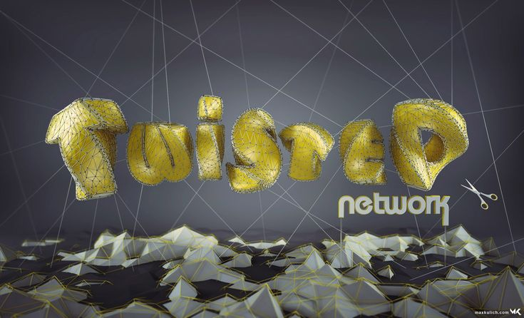 3D Graphic, 3D Typography